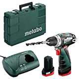 Metabo POWERMAXX BS BASIC 1400 RPM 800 g - Bohrer (1400 RPM, 1 cm, 1,8 cm, 34 Nm, 17 Nm, 301 Zoll-Pfund)