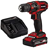 Einhell Akkuschrauber TC-CD 18/35 Li Kit Power X-Change (Li-Ion, 18 V, 550 min.-1, 35 Nm, 10 mm Bohrfutter, inkl. 1,5 Ah PXC-Akku und Ladegerät, Aufbewahrungskarton)